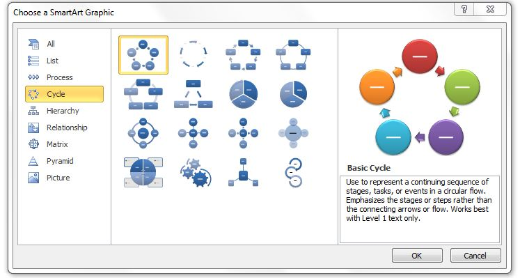 Visualization tools microsoft words smartart librarian in the tips ccuart Images